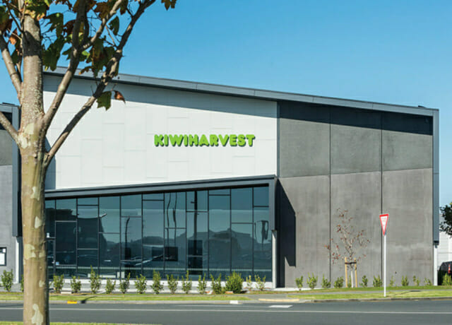 KiwiHarvest Highbrook Business Park, Auckland, New Zealand.