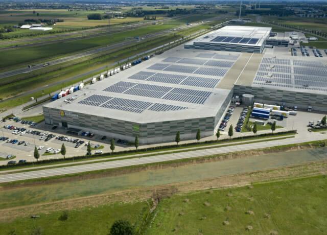 Nijmegen II Logistics Centre, Nijmegen, The Netherlands.